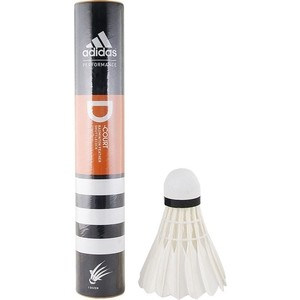 Воланы для бадминтона Adidas D-Court-79 (перо) быстрая скорость 250 grams top grade stallion siberian horsetail bowhair 78 cm violin viola cello double bass bow horse hair white bow hair