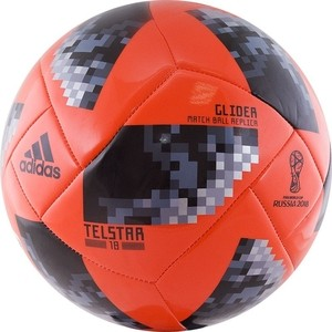 Мяч футбольный Adidas WC2018 Telstar Glider (CE8098) р.4 ijdm no hyper flash 21w high power amber bau15s 7507 py21w 1156py led bulbs for car front or rear turn signal lights canbus 12v