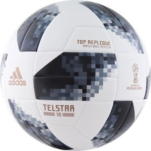 Мяч футбольный Adidas WC2018 Telstar Top Replique (CE8091) р.5 FIFA Quality цена и фото