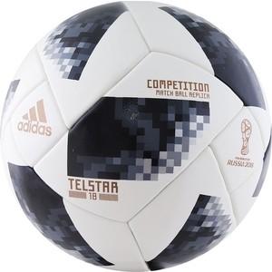 Мяч футбольный Adidas WC2018 Telstar Competition (CE8085) р.5 FIFA PRO