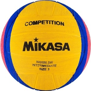 Мяч для водного поло Mikasa W6608 5W р.3 юношеский цена 2017