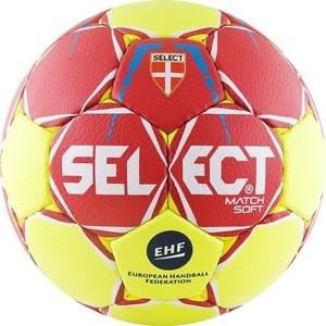Мяч гандбольный Select Match Soft 844908-335 Senior р.3 мяч футзальный тренировочный р 4 select futsal samba 852618 335
