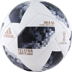 Мяч для футзала Select WC2018 Telstar Sala 65 (CE8146) р.4 сертификат FIFA Quality Pro