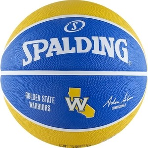Мяч баскетбольный Spalding NBA TEAM RBR BB Warrior р.7 (83-515z) мяч mitre impel 5 bb 1052wg7