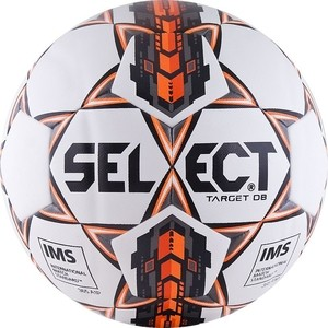 Мяч футбольный Select Target DB (815217-006) р. 5 сертификат IMS футбольный мяч kelme oficial lnfc 17 18 90155 006