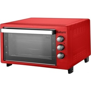Мини-печь Saturn ST-EC1090 Red мини печь saturn st ec1077 red