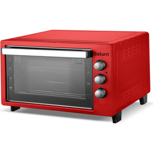 Мини-печь Saturn ST-EC1089 Red мини печь saturn st ec1077 red