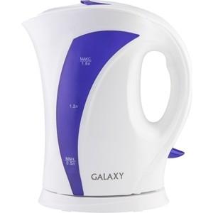 Чайник электрический GALAXY GL 0103 фиолетовый сковорода galaxy gl 9818