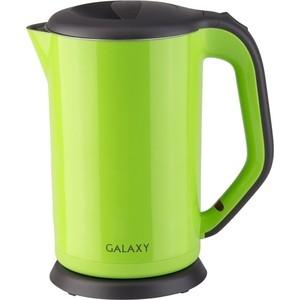 Чайник электрический GALAXY GL 0318 зеленый сковорода galaxy gl 9818