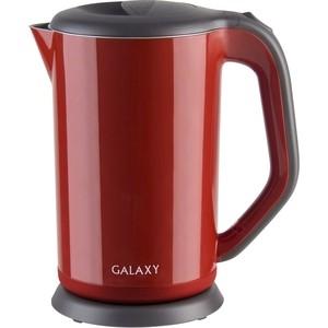 Чайник электрический GALAXY GL 0318 красный чайник электрический galaxy gl 0404