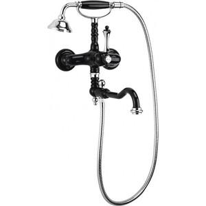 Смеситель для ванны Cezares Margot Nero Lucido Cromo (MARGOT-VDFM2-NLC) смеситель для раковины cezares margot margot lsm2 02 m