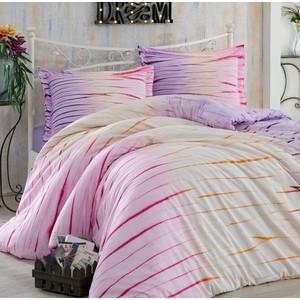 Комплект постельного белья Hobby home collection Семейный, поплин Batik Kirik лиловый (1501001602) batik batik плащ бонита красный
