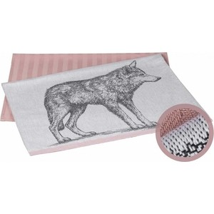 Набор кухонных полотенец Hobby home collection Wolf лиловый 50x70 2 штуки (1501001627) new wolf guard yl 007m2bx mobile call gsm auto dial alarm system for home security safety
