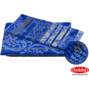 Полотенце махровое Hobby home collection Avangard синий 70x140 (1501001622) полотенце махровое hobby home collection lavinya светло пудра 70x140 1501001475