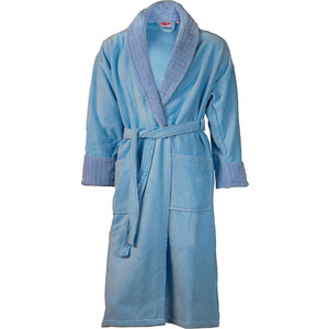 все цены на Халат мужской Hobby home collection Angora XL голубой (1501000815)