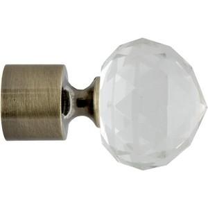 Наконечники 2 штуки DDA 28 мм Орион Золото антик (28.01.34.101 ) наконечники 2 штуки dda 28 мм антик белое золото 28 01 50 105
