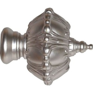 Наконечники 2 штуки DDA 28 мм Антик Сатин (28.01.50.500 ) наконечники 2 штуки dda 28 мм антик белое золото 28 01 50 105