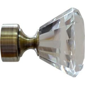 Наконечники 2 штуки DDA 28 мм Модерн Золото антик (28.01.51.101 ) наконечники 2 штуки dda 28 мм антик белое золото 28 01 50 105