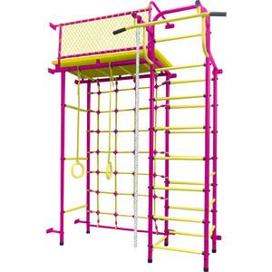 Детский спортивный комплекс Пионер 10С пурпурно-жёлтый детский спортивный комплекс пионер с4с пурпурно жёлтый