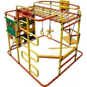 Детский спортивный комплекс Формула здоровья Мурзилка S оранжевый/радуга