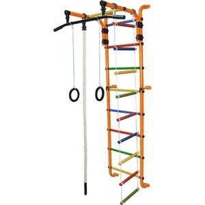 Детский спортивный комплекс Формула здоровья Сигма-1А Плюс оранжевый/радуга формула здоровья жирафик 1а универсальный плюс оранжевый радуга