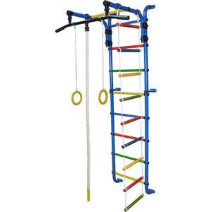 Детский спортивный комплекс Формула здоровья Сигма-1А Плюс синий/радуга спортивный комплекс формула здоровья мечта 1в плюс синий радуга