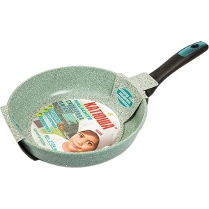 Сковорода d 20  см Катюша Малахит (Кт-5120-м) сковорода для блинов d 26 см катюша кт 9226