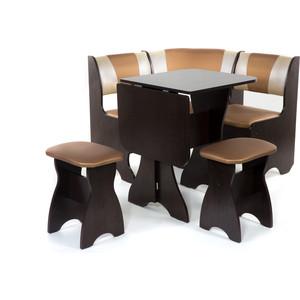 Набор мебели для кухни Бител Тюльпан мини - комби (венге, с-109 + с-101, венге) 101 розовый тюльпан