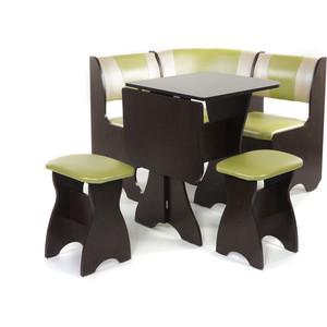 Набор мебели для кухни Бител Тюльпан мини - комби (венге, с-105 + с-101, венге) 101 розовый тюльпан
