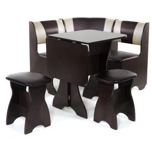 Набор мебели для кухни Бител Тюльпан мини - комби (венге, с-221 + с-101, венге) 101 розовый тюльпан