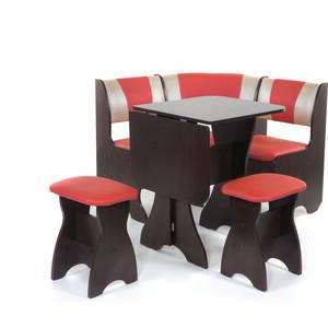 Набор мебели для кухни Бител Тюльпан мини - комби (венге, терра эффект-112 + с-101, венге) 101 розовый тюльпан