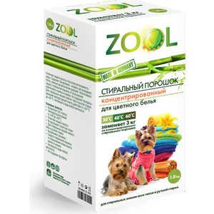 Аксессуар ZOOL ZL 359 Стиральный порошок концентрированный для цветного белья 1 кг