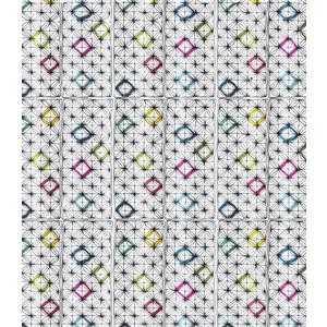 Штора для ванной Lemark Diamond shapes (C2018T010) wonderfoam shapes assorted shapes colors 720 pieces pack
