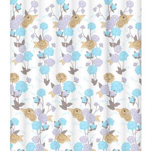 Штора для ванной Lemark Summertime blues (C2018T023) lemark штора для ванной lemark spring memories 200х180 см 2jgigii