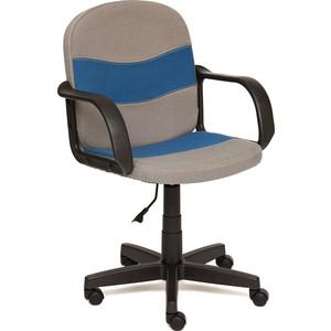 Кресло TetChair BAGGI ткань серый/синий С27/С24 baggi