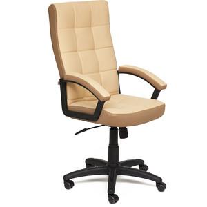Кресло TetChair TRENDY кожзам/ткань бежевый/бронзовый 36-34/21 кресло tetchair ostin ткань серый бронзовый мираж грей tw 21
