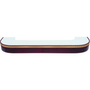 Карниз потолочный пластиковый DDA Поворот Греция двухрядный вишня 4.0 decolux карниз артик тор двухрядный стеновой золото античное 201 см ø1 6 см 36 колец z snyk dl