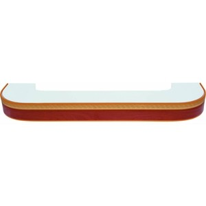 Карниз потолочный пластиковый DDA Поворот Греция двухрядный груша 2.4 карниз потолочный пластиковый dda поворот греция двухрядный венге 3 0