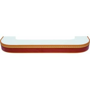 Карниз потолочный пластиковый DDA Поворот Греция двухрядный груша 3.4 боксерская груша