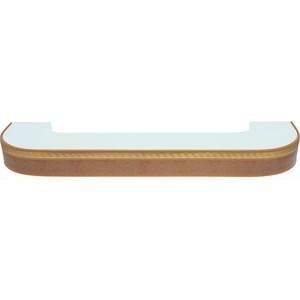 Карниз потолочный пластиковый DDA Поворот Греция двухрядный песок 3.0 decolux карниз артик тор двухрядный стеновой золото античное 201 см ø1 6 см 36 колец z snyk dl