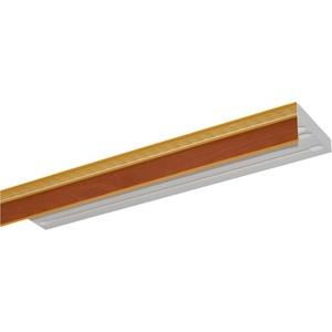 Карниз потолочный пластиковый DDA Прямой Греция двухрядный груша 2.8 decolux карниз артик тор двухрядный потолочный бело золотой 157 см ø1 6 см 28 колец cuqw s p5