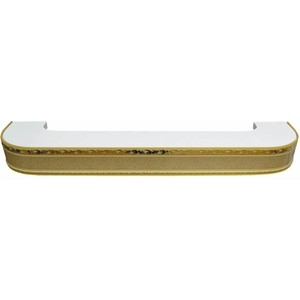 Карниз потолочный пластиковый DDA Поворот Гранд трехрядный песок 2.6 карниз потолочный пластиковый dda поворот гранд трехрядный серебро 3 8