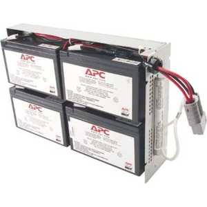 ИБП APC Battery replacement kit for SUA1500RMI2U, SU1400RM2U, SU1400RMI2U, SU1400R2IBX120 (RBC24) батарейный модуль для ибп apc rbc116 replacement battery cartridge 116 apcrbc116