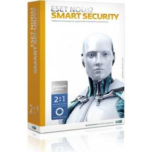 Программное обеспечение ESET NOD32 Smart Security Platinum Edition - лицензия на 2 года на 1ПК (NOD32-ESS-NS(BOX)-2-1)