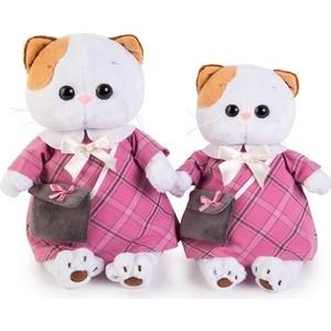 Мягкая игрушка Budi Basa Ли-Ли в розовом платье с серой сумочкой (LK24-007) мягкая игрушка budi basa ли ли балерина с лебедем 24 см lk24 006