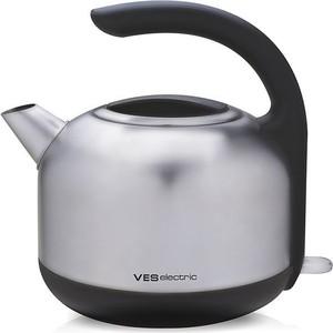 Чайник электрический Ves H-100-SS чайник ves electric h 100 ss 2200 вт серебристый 1 7 л металл