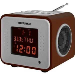 Радиоприемник TELEFUNKEN TF-1575 дерево темное радиоприемник telefunken tf 1638u дерево темное