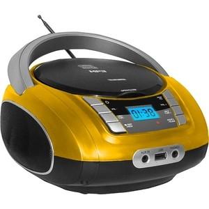 Фотография товара магнитола TELEFUNKEN TF-CSRP3448 желтый (823096)
