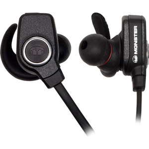 Наушники Monster Elements In-Ear Wireless black slate (137075-00) беспроводные наушники monster isport victory in ear wireless blue
