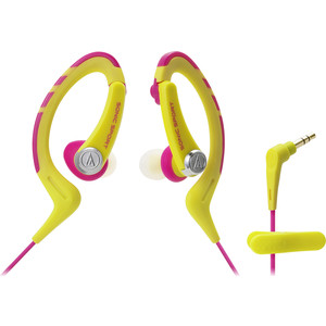 Наушники Audio-Technica ATH-SPORT1 yellow наушники audio technica ath pro5mk3 black